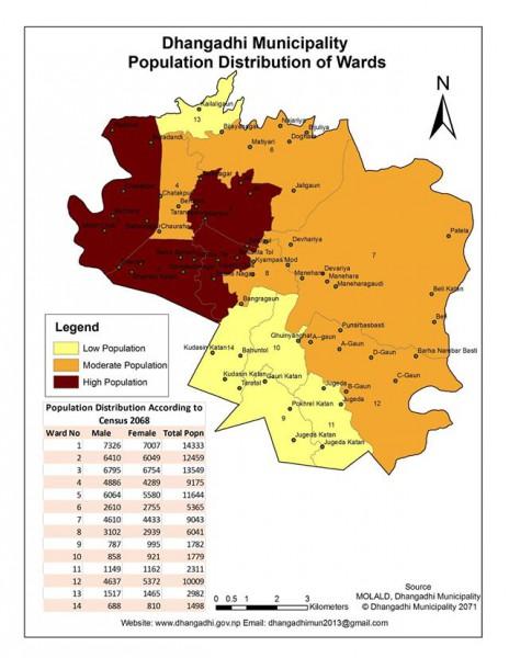 GIS MAP | Dhangadhi Sub-Metropolitan City